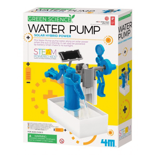 4M Green Science Hybrid Power Water Pump