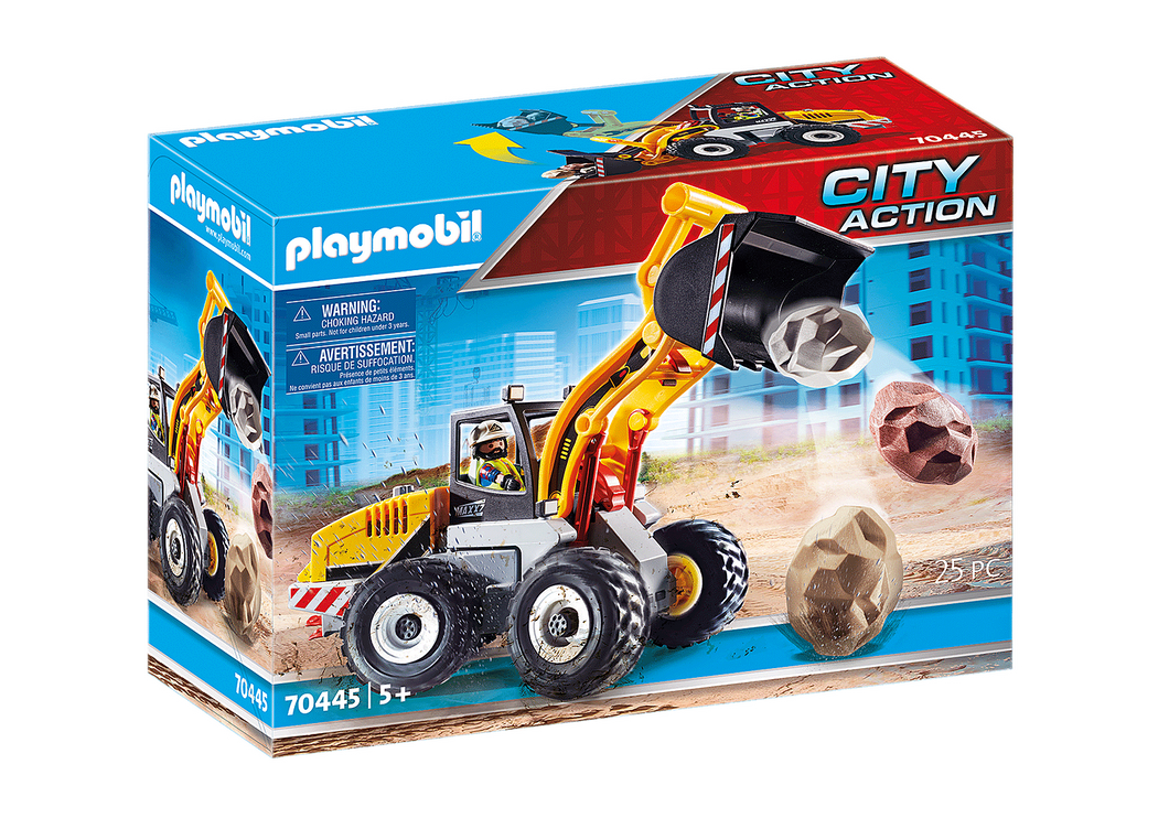 Playmobil - City Action - Wheel loader - 70445