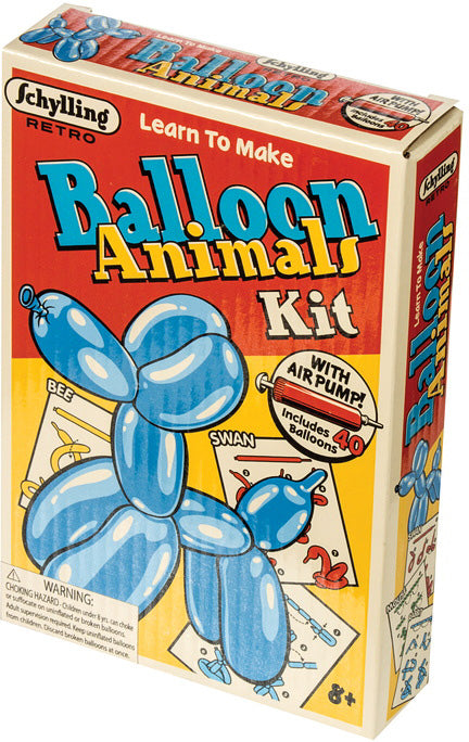 Schylling Retro - Balloon Animals Kit