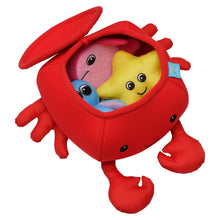 Load image into Gallery viewer, Manhattan Toy Crab Floating Fill N Spill Bath Toy