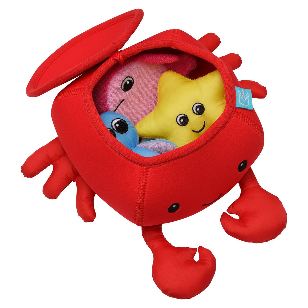 Manhattan Toy Crab Floating Fill N Spill Bath Toy