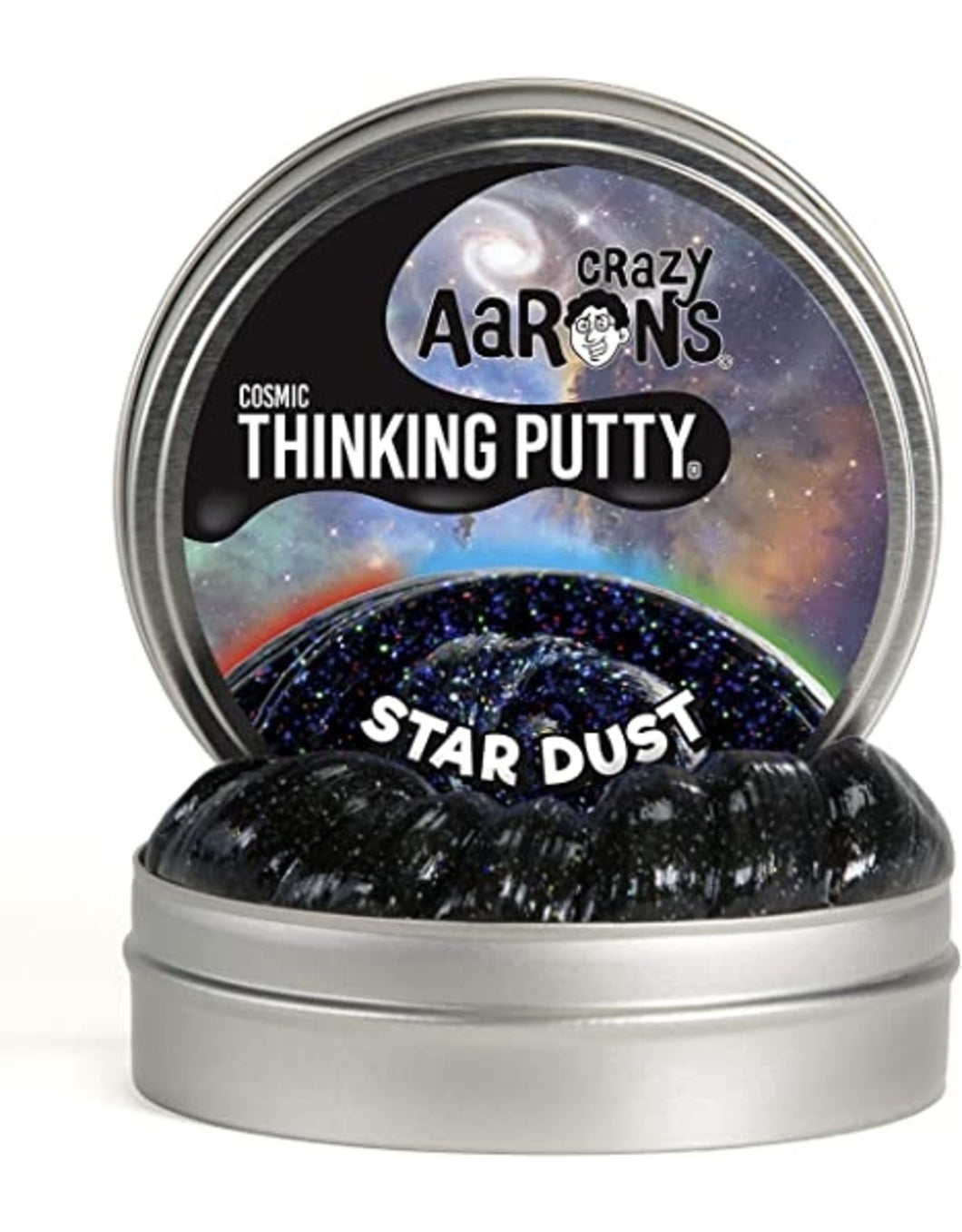 Crazy Aaron's Thinking Putty Cosmic Glows Star Dust