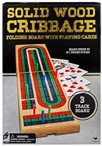 Classic Wood Cribbage in Box