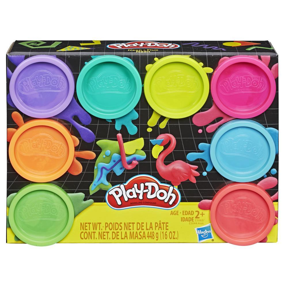 Play Doh 8 Pack Neon