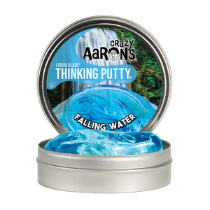 Crazy Aaron's Thinking Putty Falling Water - Liquid Glass