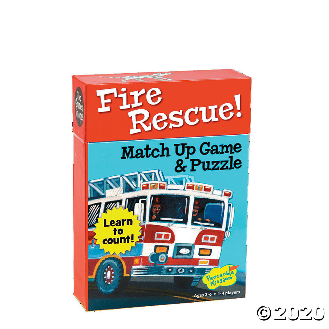 Puzzle and Match Up Game - Fire Rescue!
