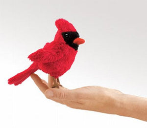 Mini Cardinal Finger Puppet
