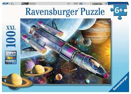 Ravensburger 100pc XXL Mission In Space