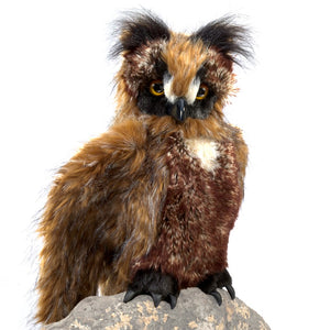 Great Horned Owl Puppet