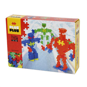 Plus Plus Neon 170pc Robots