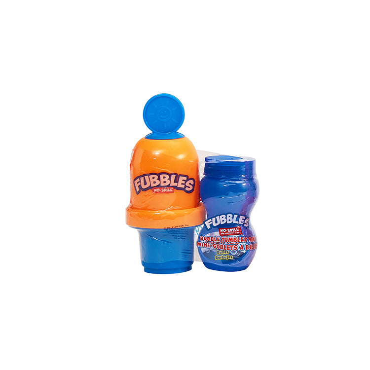Fubbles No Spill Bubble Tumbler Minis (assorted colours)
