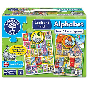 Orchard Toys Look and Find... Alphabet Jigsaw