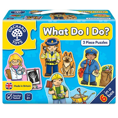 Orchard Toys What Do I Do? Puzzle