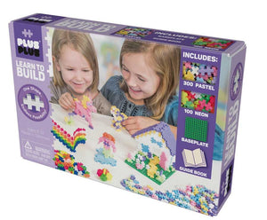 Plus Plus Learn to Build - Pastel 400pc with Baseplate