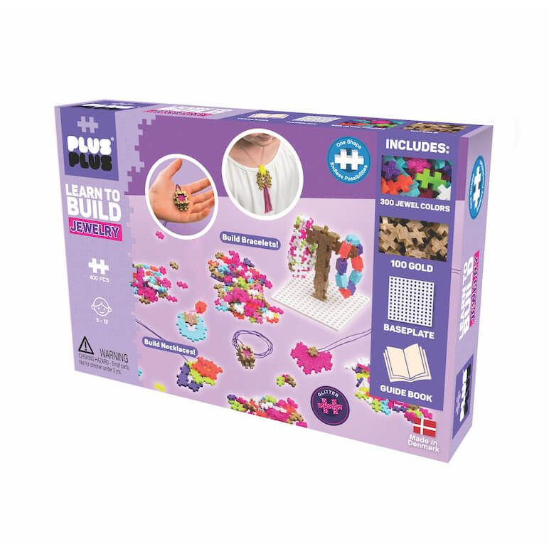 Plus Plus Learn to Build Jewelry 400pc