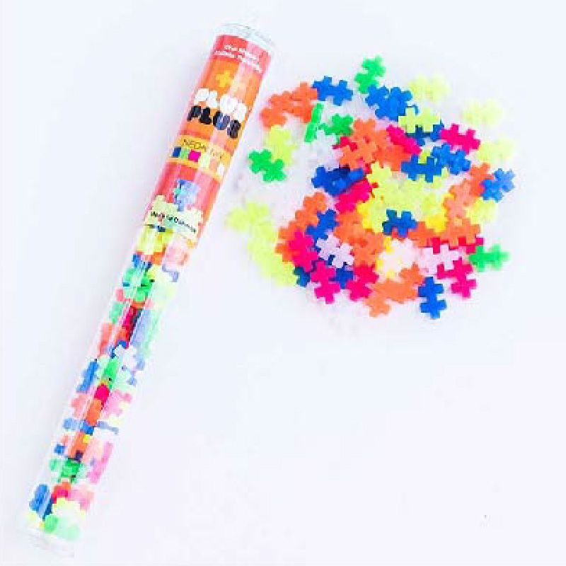 Plus Plus Tube - Neon Mix 70pc
