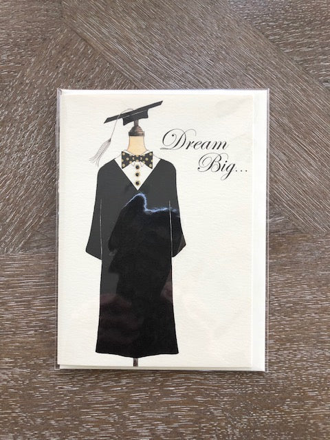 Graduation Greeting Card/Anything is possible