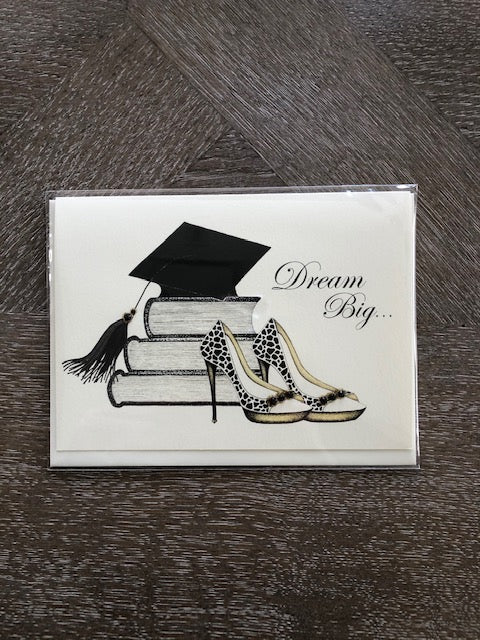 Graduation Greeting Card/Anything is possible, congratulations