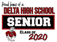 High School Senior Yard Signs