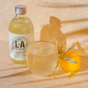Lemongrass Kombucha | Case of 12 or 18