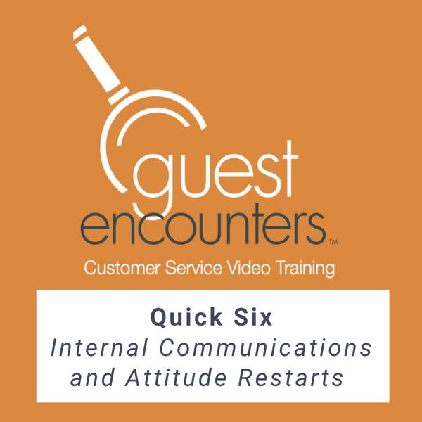 Quick Six: Internal Communications and Attitude Restarts