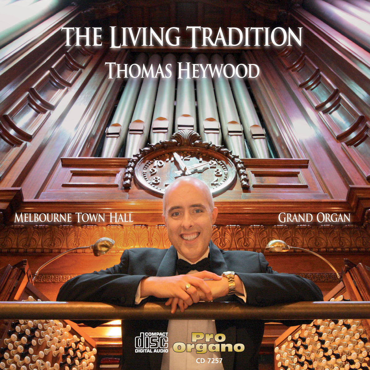 The Living Tradition (CD) | Thomas Heywood | Concert Organ International