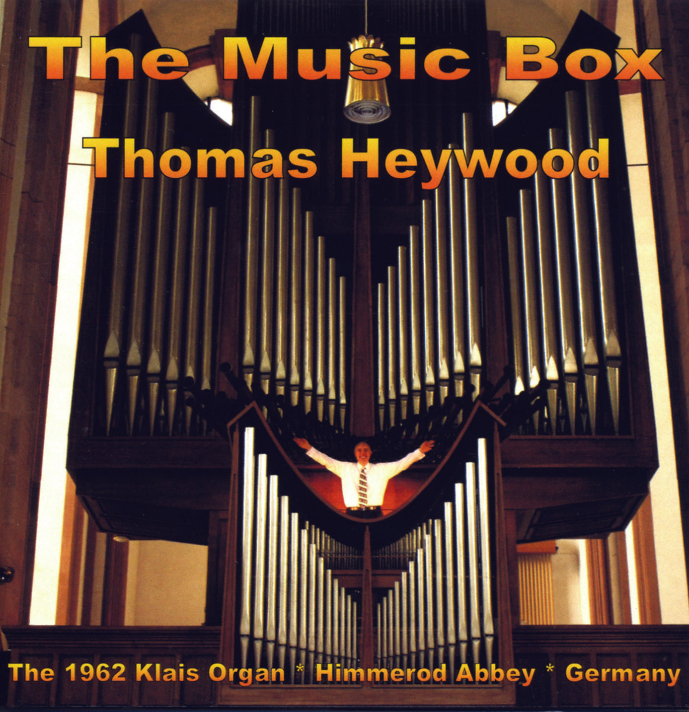 The Music Box (CD) | Thomas Heywood | Concert Organ International