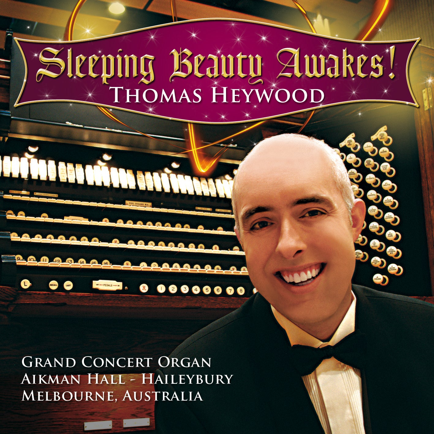 Sleeping Beauty Awakes! (CD) | Thomas Heywood | Concert Organ International