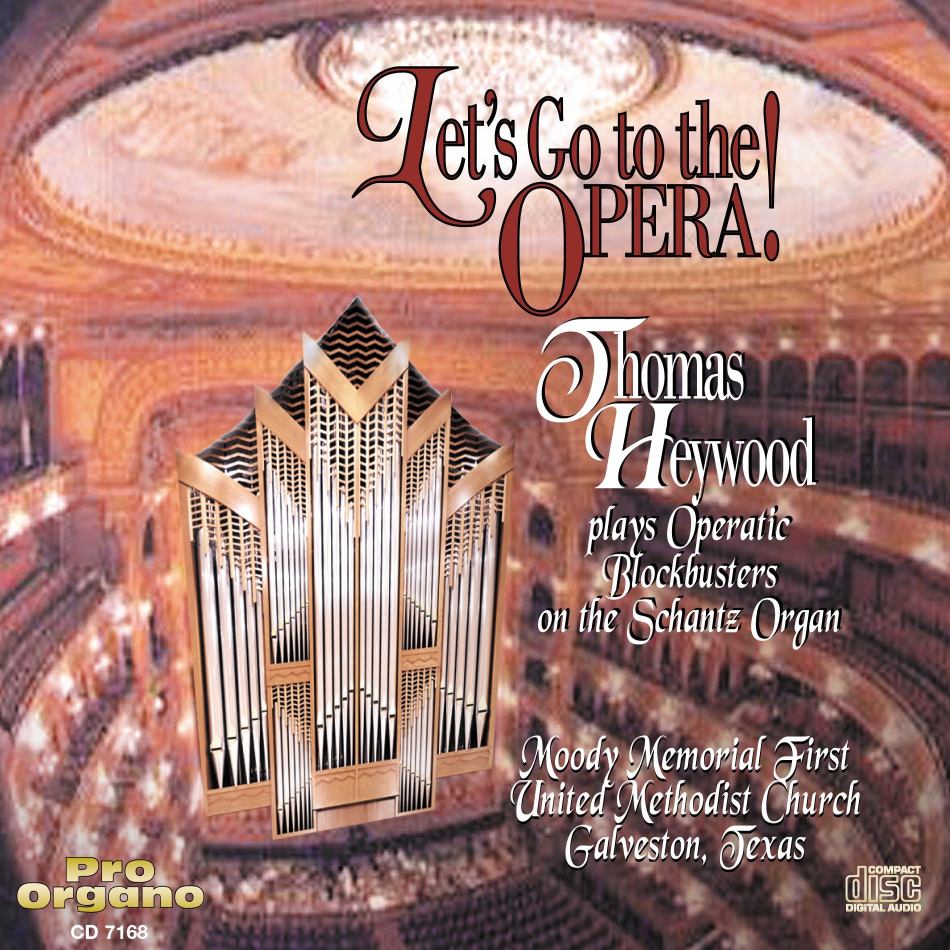 Let's Go to the Opera! (CD) - Concert Organ International