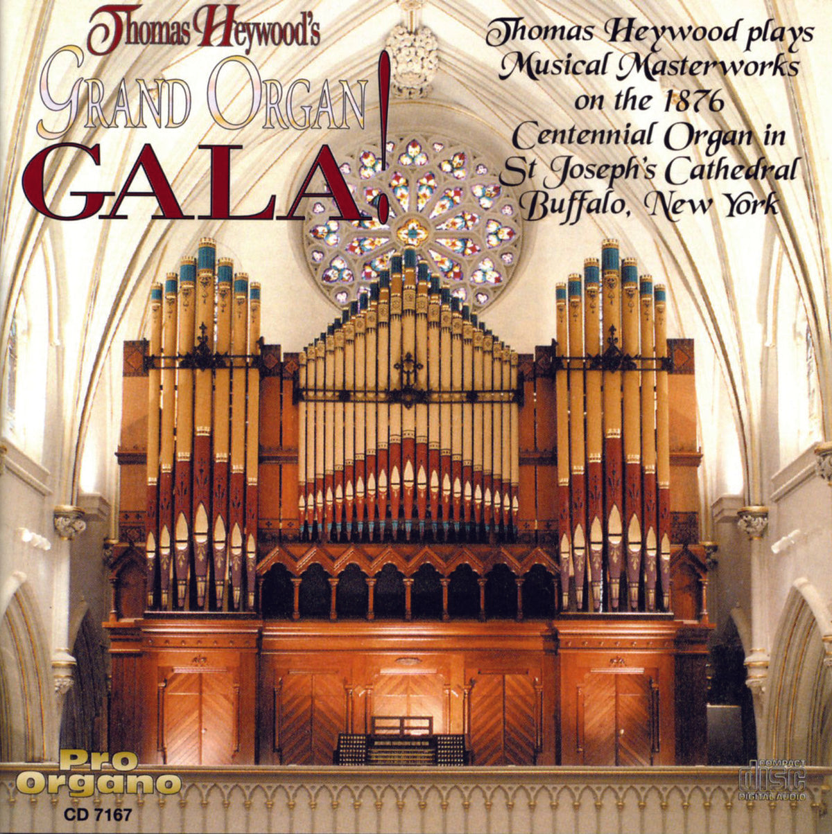 Thomas Heywood's Grand Organ GALA!  (CD) | Thomas Heywood | Concert Organ International