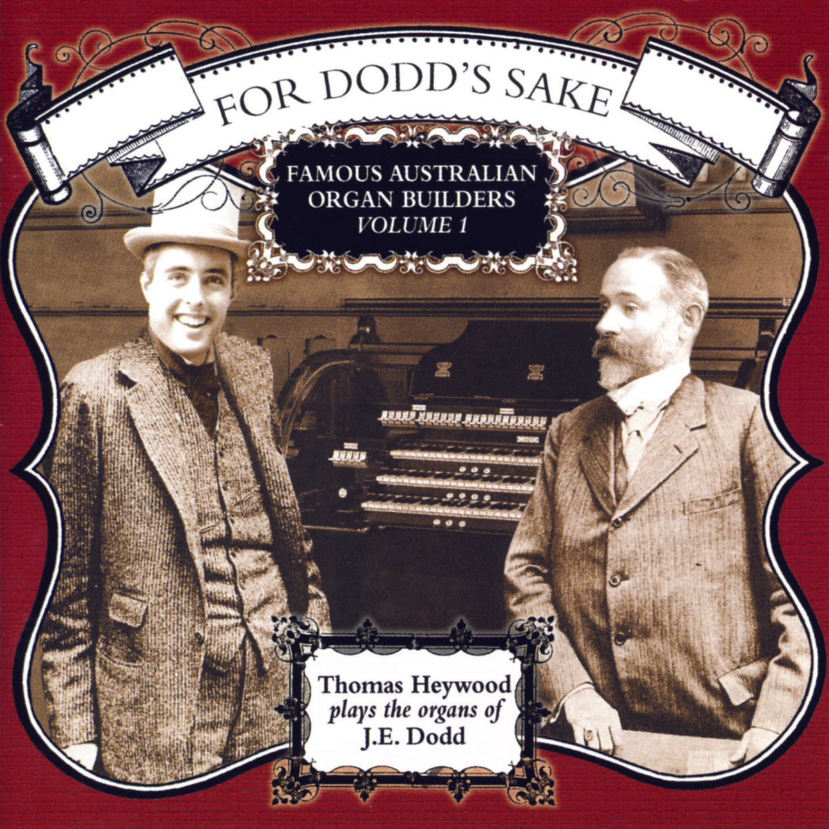 For Dodd's Sake (MP3 Album) | Thomas Heywood | Concert Organ International