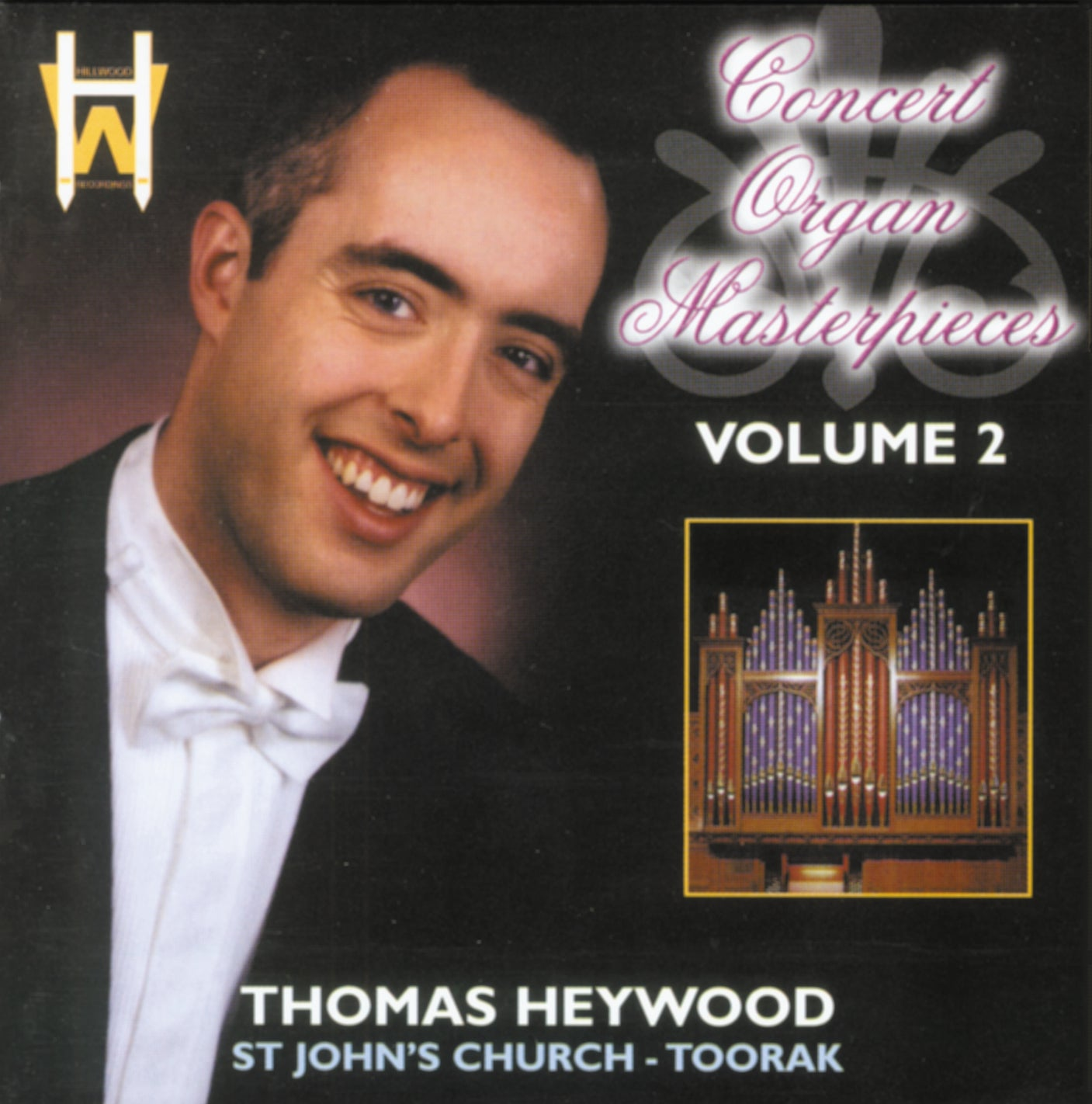 Concert Organ Masterpieces - Volume 2 (CD) | Thomas Heywood | Concert Organ International