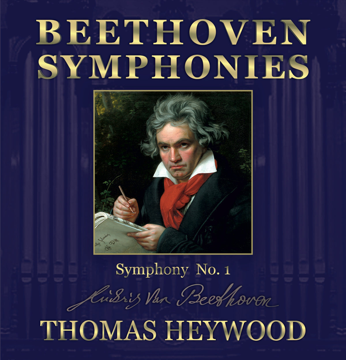 Beethoven/Heywood - Symphony No. 1 in C major, Op. 21 (MP3 Album) | Thomas Heywood | Concert Organ International