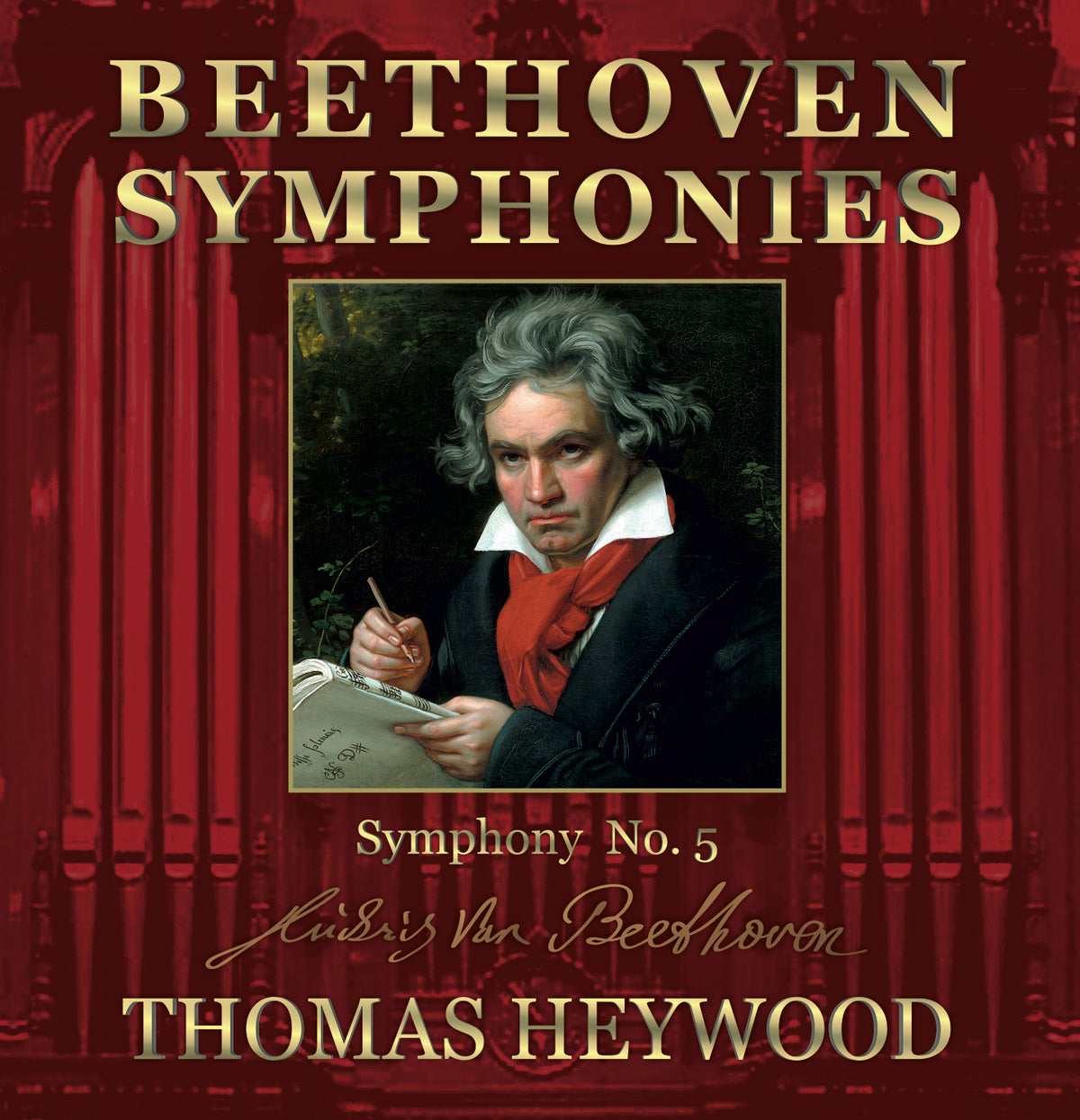 Beethoven/Heywood - Symphony No. 5 in C minor, Op. 67 (MP3 Album) | Thomas Heywood | Concert Organ International