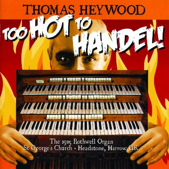 Handel/Best - Organ Concerto No. 2 in B-flat, Op. 4 No. 2, HWV 290: I. Andante maestoso - Allegro | Thomas Heywood | Concert Organ International