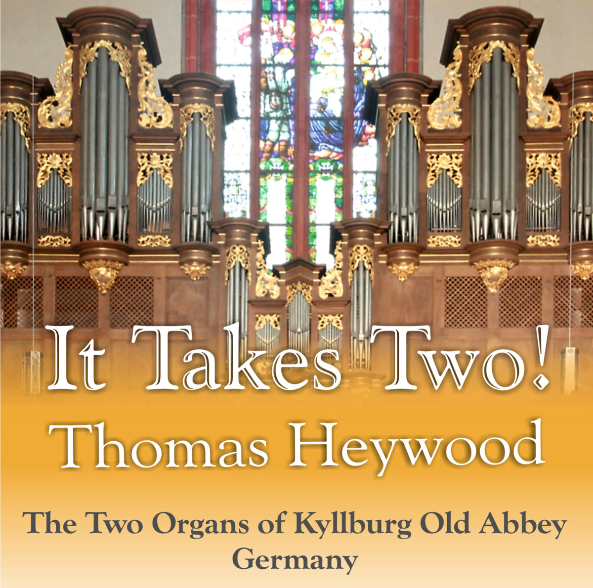 It Takes Two! (CD) - Concert Organ International