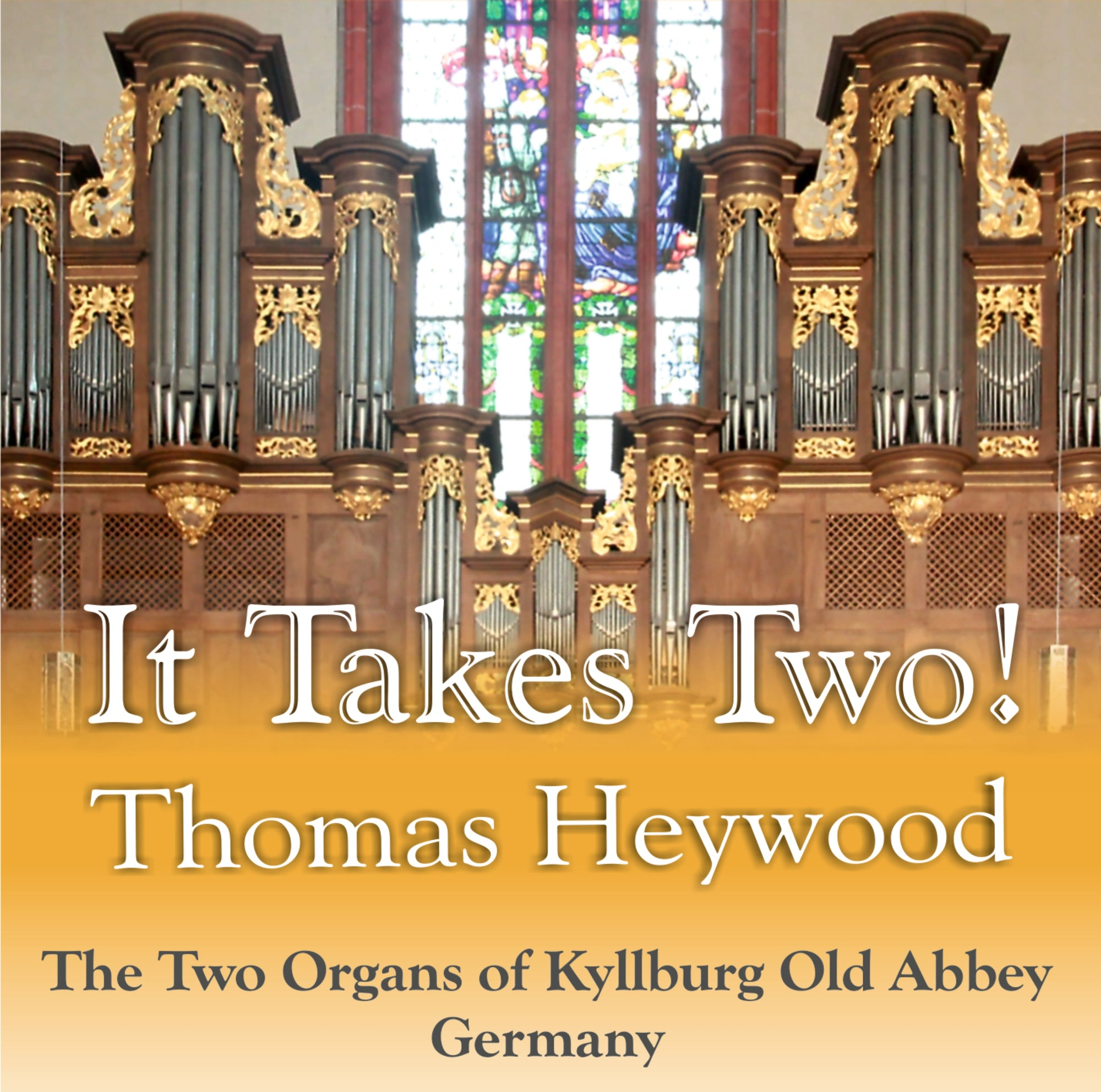 It Takes Two! (CD) | Thomas Heywood | Concert Organ International