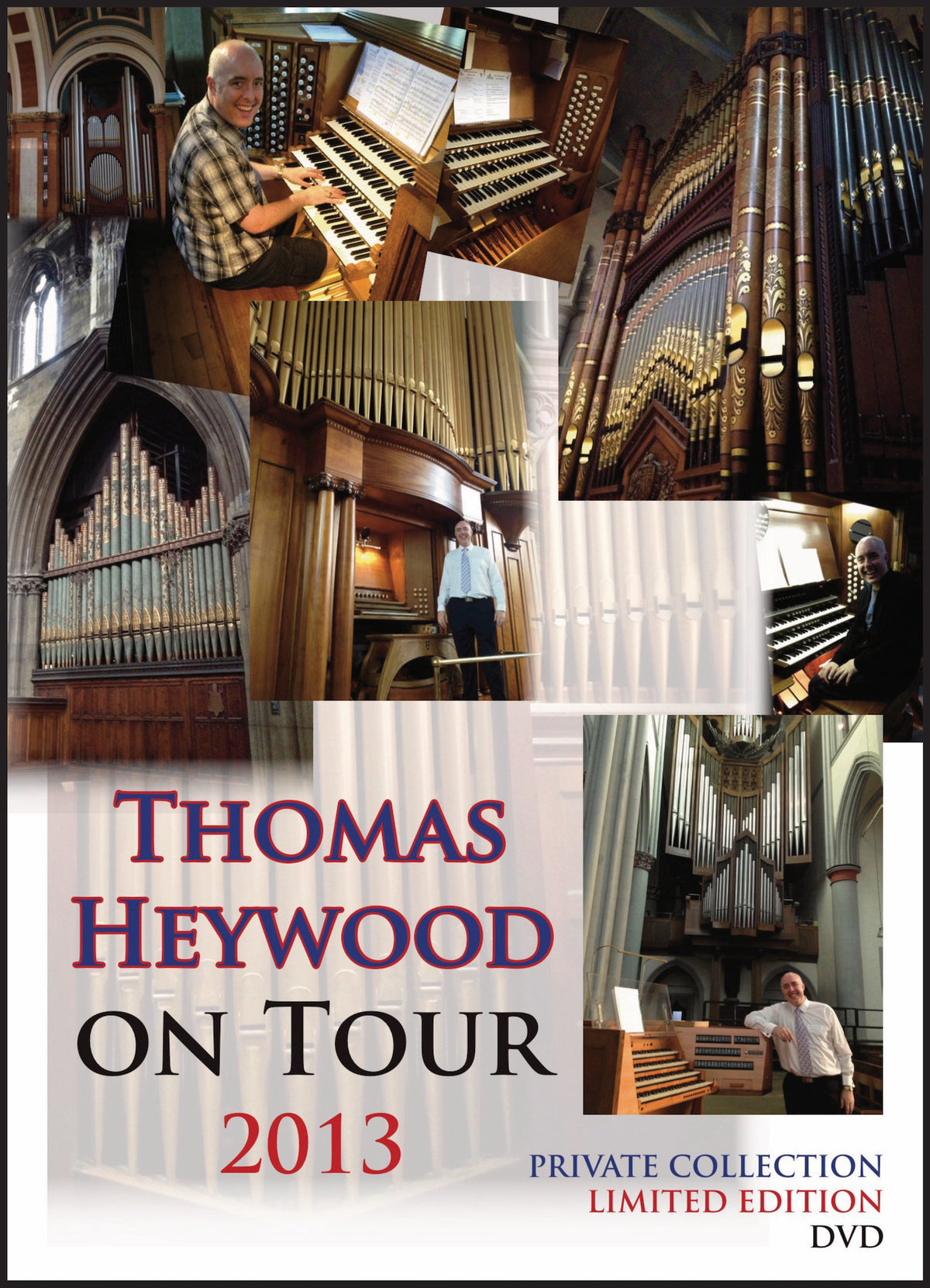 Thomas Heywood on Tour • 2013 (MP4 Film) | Thomas Heywood | Concert Organ International