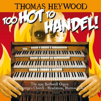 Handel/Best - Organ Concerto No. 2 in B-flat, Op. 4 No. 2, HWV 290: II. Adagio | Thomas Heywood | Concert Organ International