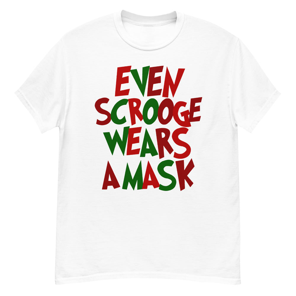 Even Scrooge Unisex White T-Shirt