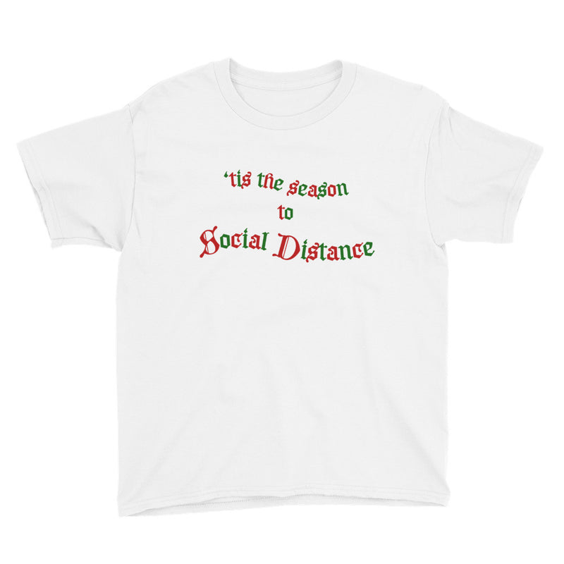 'tis The Season Youth White T-Shirt