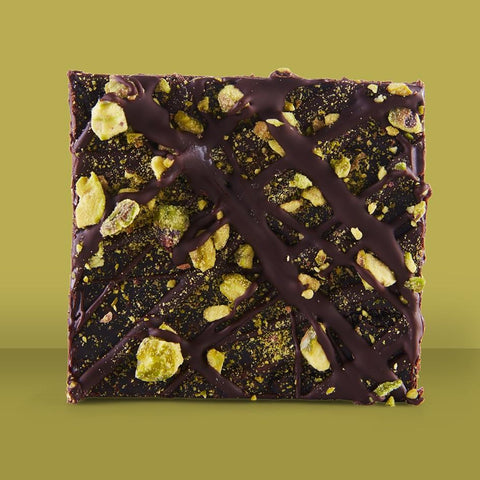 Orange & Pistachio Brownie (Ve)
