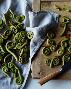 Local 4U, Fiddleheads, wild veg