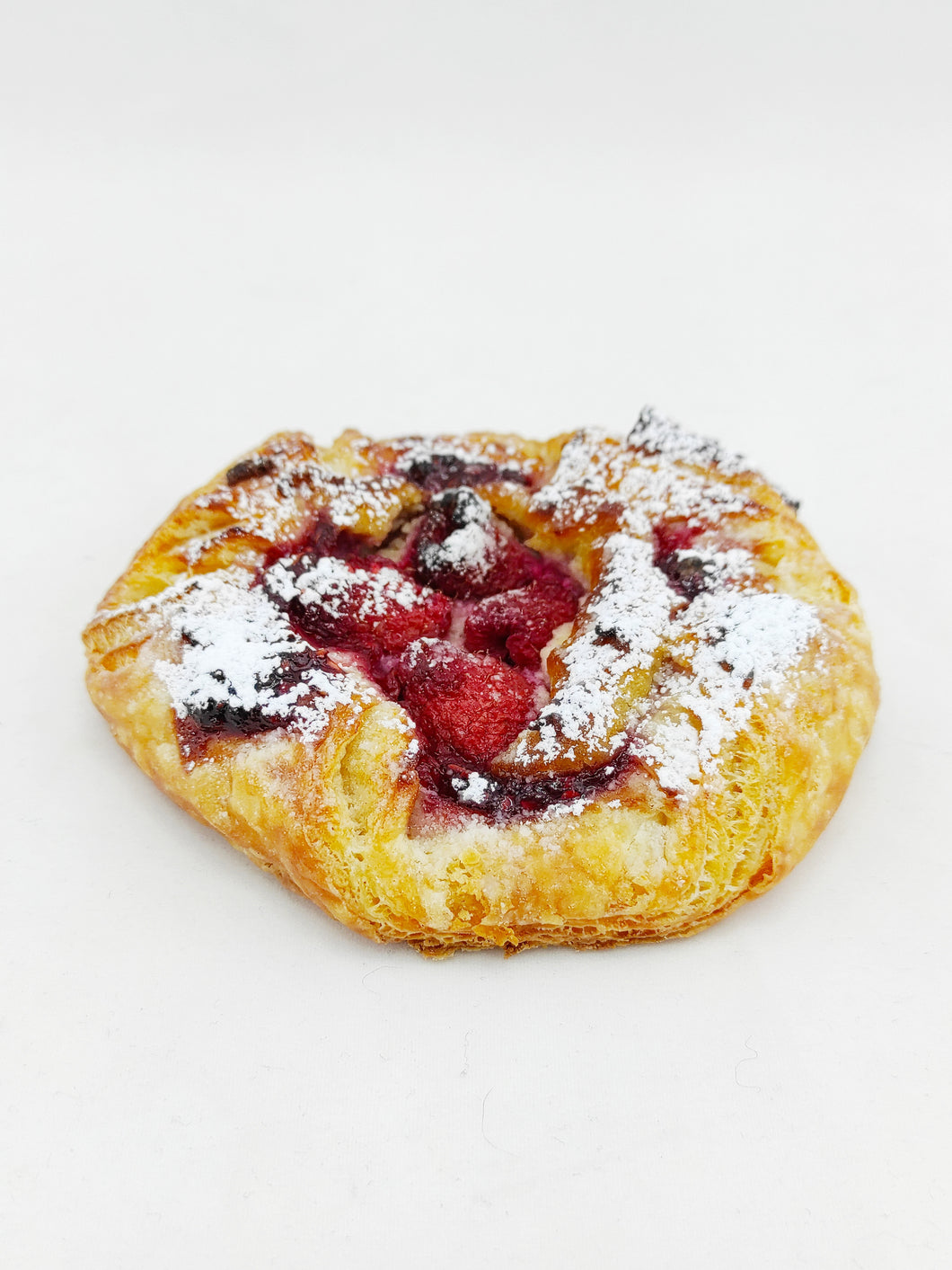 Raspberry Cream Cheese Danish (Vegan)