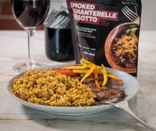 Load image into Gallery viewer, Smoked Chanterelle Risotto with Sundried Tomato