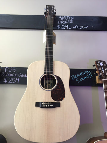 Martin DX1RAE Acoustic/Electric