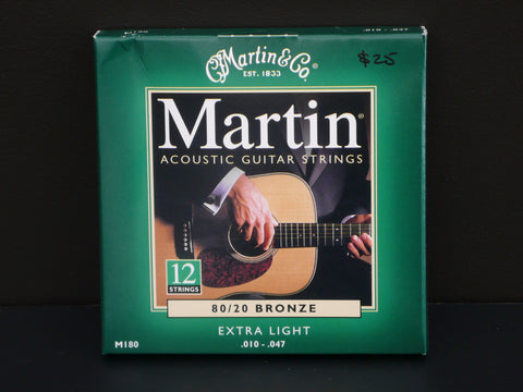 Martin 80/20 Bronze 12 Strings