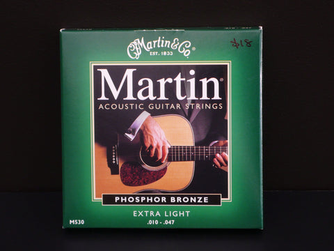 Martin Phosphor Bronze Extra Light