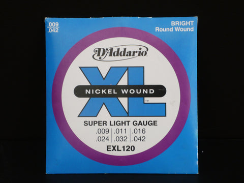 D'Addario Electric Super Light