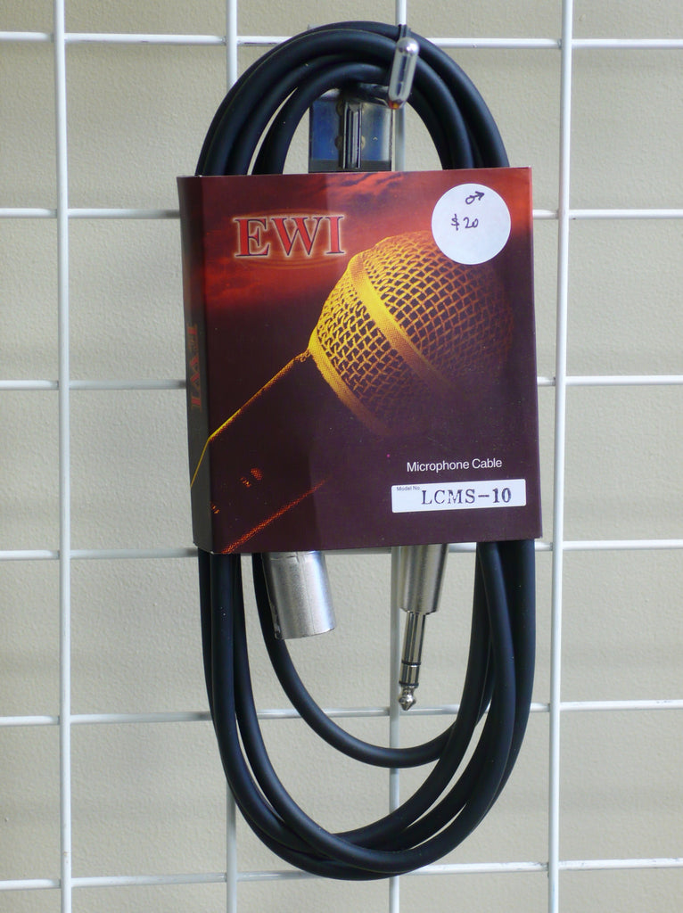 EWI Male XLR-Jack Mic Cable